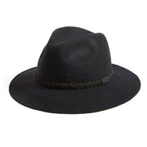 Michael Stars She's Twisted Wool Fedora Hat